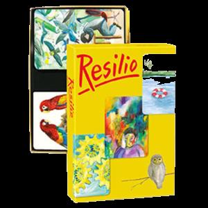 Метафорические ассоциативные карточная игра RESILIO